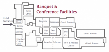 Banquet Space/ First Floor Layout